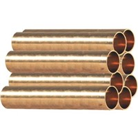 Copper A/C Refrigeration Tubing - Blue                                          - Special order item                                                              Type ACR Hard ASTM B280 Blue - 20' Lengths
