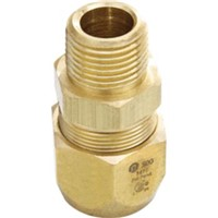 AutoSnap   Fittings                                                              AutoSnap   Brass Straight Mechanical Fitting                                     - For use in indoor, outdoor, and                                                 concealed location applications                                               - Yellow brass                                                                  - Operating pressure: 25 psig                                                   - Operating temperature range: -20   to 200  F                                    - CSA Certified                                                                 - ANSI and IAPMO Listed