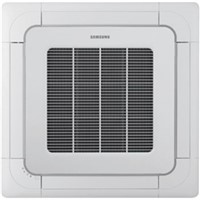 "FJM  Multi-Zone Ductless Mini-Splits                                            R-410A FJM  Mini 4-Way Cassette Multi-Zone Inverter Ductless Mini-Split Heat Pump                                                                               - Digital Inverter technology                                                   - Compact size and lightweight body allows                                        unit to be installed in a standard 24"" ceiling tile                           - Built-in condensate pump with check valve and 29-1/2"" maximum lift            - Easy-care electro-static, washable, pleated filters supplied as standard      - Knockout for outside air capability with booster fan connection               - Surround airflow                                                              - System protection                                                             - Individual blade control                                                      - 3-Speed turbo fan with automatic settings - AHRI Certified                                                                - cETLus Listed"
