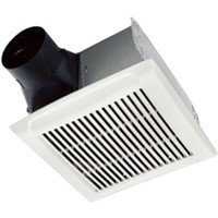 Ventilation Fan/Lights                                                          InVent  Single-Speed Fan                                                        - Rugged 26 ga galvanized                                                         steel construction                                                            - Polymeric constructed grille                                                  - Plug-in, permanently                                                            lubricated motor                                                              - Can be mounted in ceilings                                                      up to 7/12 pitch                                                              - UL Listed                                                                     - Energy Star   rated                                                            - 3-Year warranty